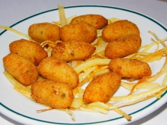Croquetas de pescado caseras